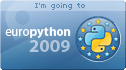 I am going to Europython 2009